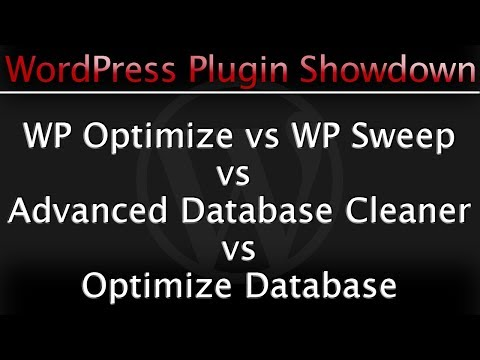 WP Optimize vs WP Sweep vs Optimize Database vs Advanced Database Cleaner WordPress Plugins Review