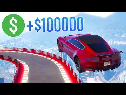GTA Online: $100k Premium Stunt Race! (GTA 5 Cunning Stunts DLC)
