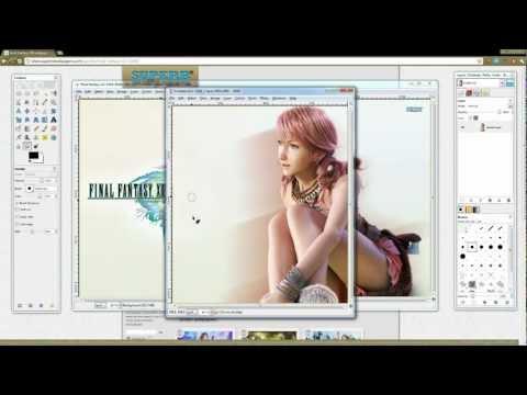 How to make Playstation Vita Wallpapers.
