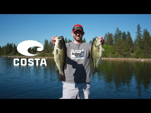 Pre-spawn Bass Fishing [Costa Rafael 580P Green Mirror Review]