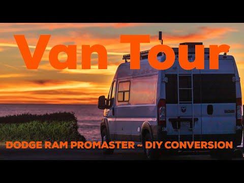 Promaster Camper Van Conversion - build walkthrough