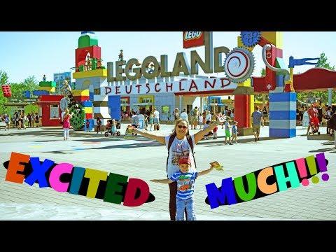 Legoland Germany Amusement Park Exciting Rides Experience || Vlog