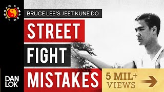 3 Common Mistakes In A Street Fight - Bruce Lee's Jeet Kune Do