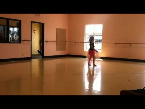 Lauren's Solo Ballet Performance