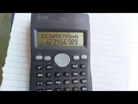 How to save mobile number in calculator easy way
