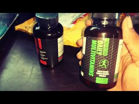 Unboxing of Guru Mann supplements
