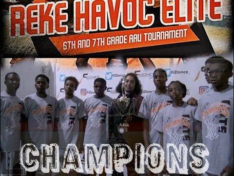 Reke Havoc Elite   Team Durant vs Bottom Ballers Championship   2017