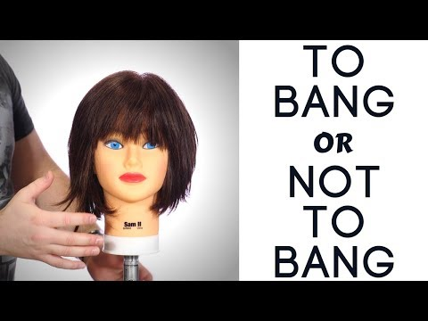 Wanna Get Bangs? - Advice on Getting bangs - TheSalonGuy