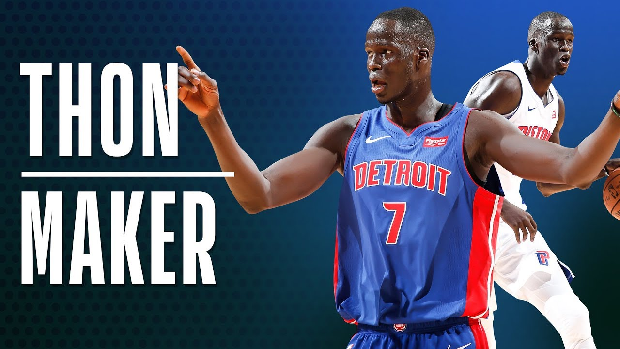 Thon Maker's Best Plays From The 2018-19 Season