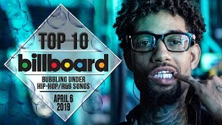 Top 10 • US Bubbling Under Hip-Hop/R&B Songs • April 6, 2019 | Billboard-Charts