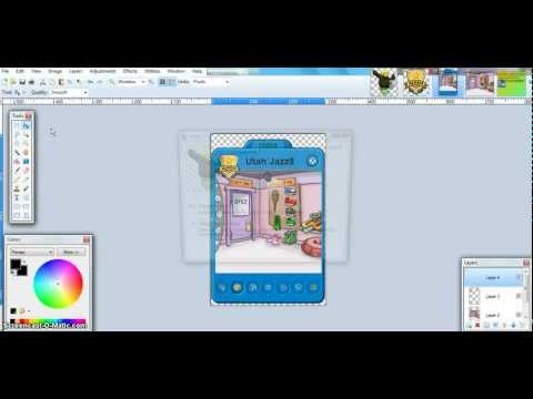 Clubpenguin How To Make A Famous Penguin Player Card