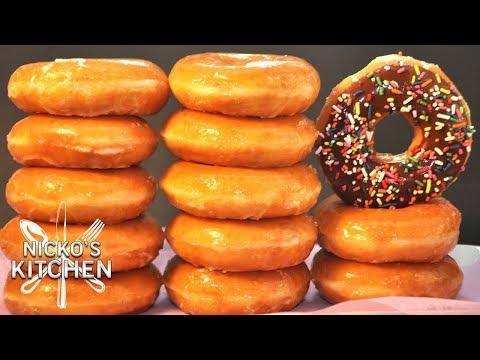 How to make Krispy Kreme Donuts
