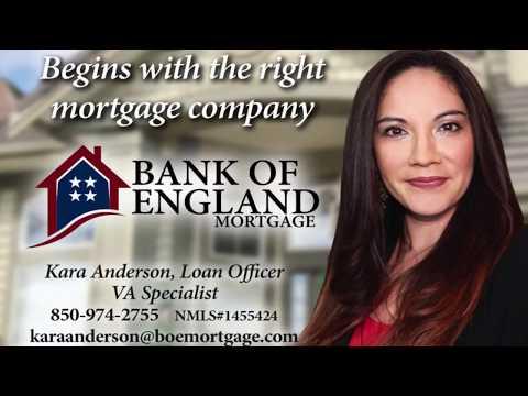 Bank Of England VA Fort Walton Beach Kara Anderson Mortgage reverse mortgage