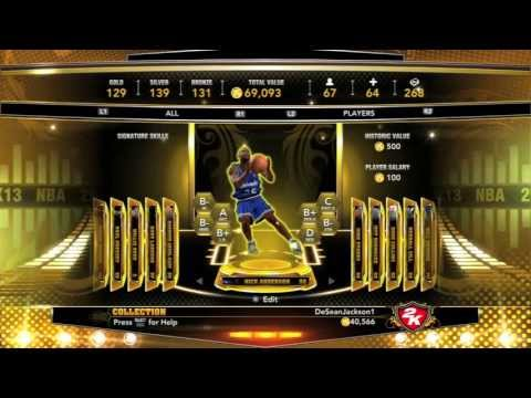 NBA 2K13 My Team - 40,000 VC Pack Opening - Update On Association