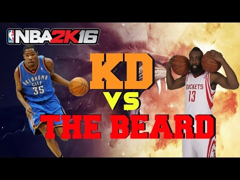 Nba2k15- Online Rank Match Kevin Durant Vs James Harden/ STILL UNDEFEATED!!