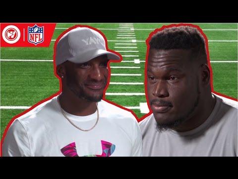 NFL Bad Joke Telling | 2017 NFL Pro Bowl