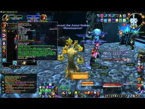 Shadowmourne Achievement and Quest Turn-in for Lyrianna 20100921.avi