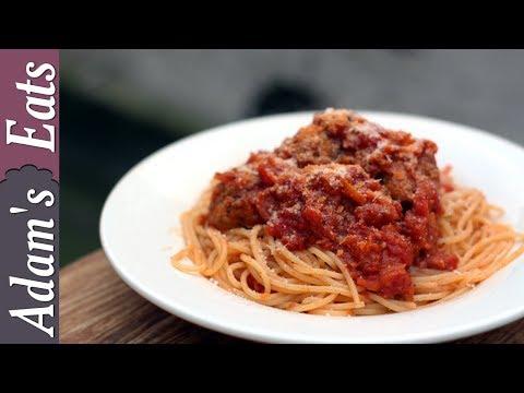 Spaghetti and meatballs | How to make meatballs