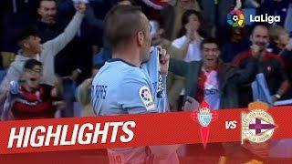 Resumen de Celta de Vigo vs Deportivo de la Coruña (4-1)