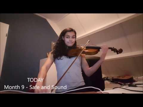 First 9 months violin! Self-taught Versie 1