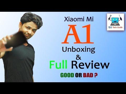 MI A1 review | xiaomi mi a1 unboxing | Mi A1 Pros & Cons