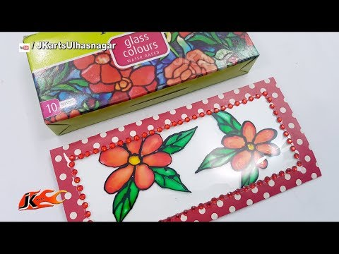 Glass Painting Crafts | Mother's Day / Teacher's Day Greeting Card | JK Arts 1380