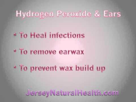 Hydrogen Peroxide & Ears