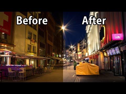 Night Photography: Create STUNNING Photos With Lightroom!