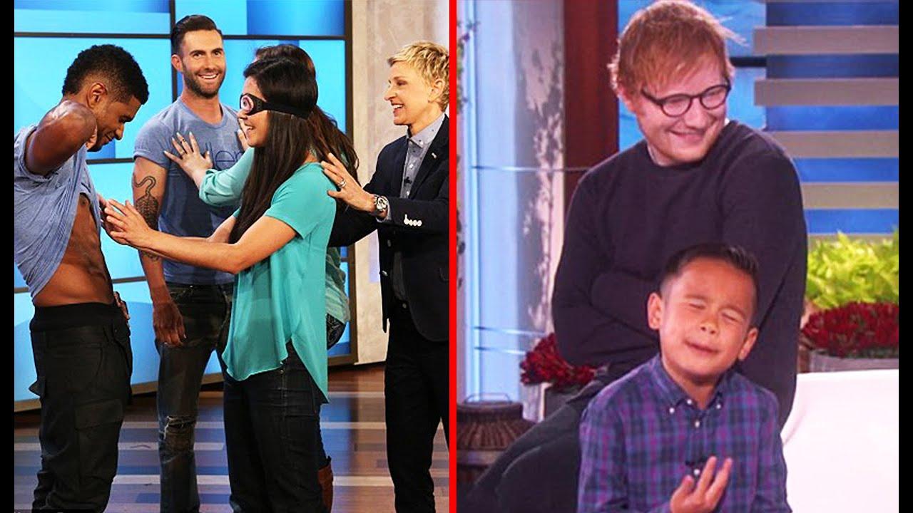 Moments When Celebrities Surprise Fans and Guests On The Ellen Show - Part 2