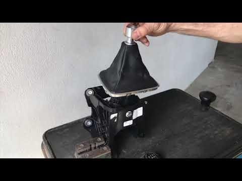 Einbau ICT Ford Kuga Cmax Smax Galaxy schaltknauf wechseln How to gear shift knob change instruction
