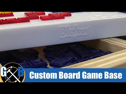 Make a DIY Custom Base for a Table Top Board Game :: How To