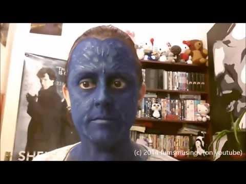 Mystique - Halloween make up Tutorial
