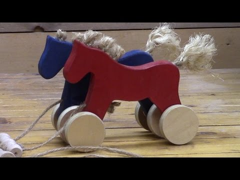 Galloping Horses Toy Build
