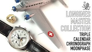 A Review Of The Longines Master Collection Triple Date Chronograph Moonphase Luxury Automatic Watch