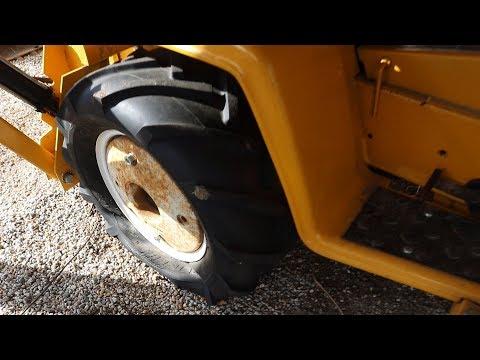 Garden Tractor Tire Repair (Tube Install) Cub Cadet 149 TLB
