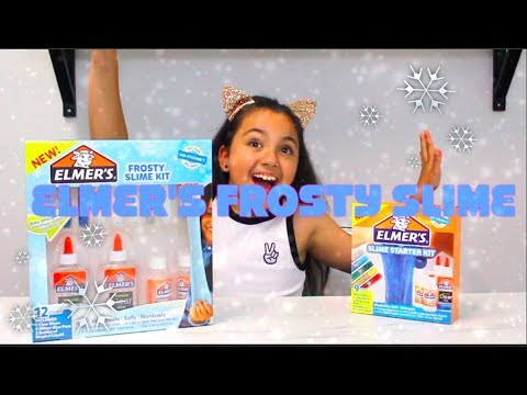Elmers Frosty Slime Kit -  New