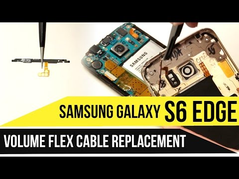 Galaxy S6 Edge Volume Buttons Replacement Video Guide