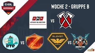 eVe vs INQ   20.000€ Turnier   ESLM WOCHE 2 Spiel 3 Gruppe B   Clash of Clans LIVE