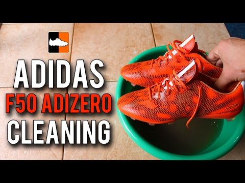 How to Clean the 2015 F50 adiZero - adidas Football Boots