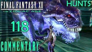 Final Fantasy XII The Zodiac Age Walkthrough Part 118 - Pylraster & Trickster - Hunt 32 & 37
