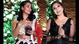 वर्षा राउतको रिसेप्सन पार्टीमा पुगेका नायिकाहरु को यस्तो बोल्ड अवतार - Barsha Sanjog Marriage