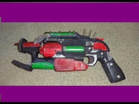 How To Make: Raygun Mark 2 ( Nerf Gun Mod)