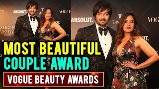 Richa Chadda And Ali Fazal Talk About Their Love Story At Vogue Beauty Awards 2018