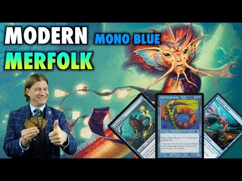 MTG - How To Build Mono Blue Modern Merfolk! A powerful yet affordable deck for Magic: The Gathering