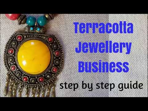 How to Start Terracotta Jewellery Business | Terracotta jewellery making business