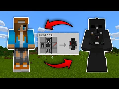 How to become DARTH VADER in Minecraft!