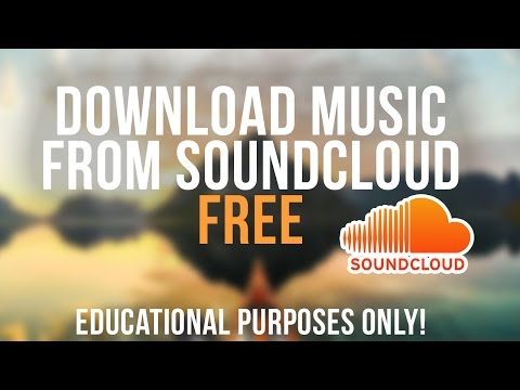 How to download music from Soundcloud FREE (EDU PERP ONLY)