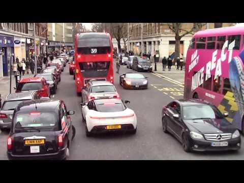 London by bus: King's Road - Sloane Square - Westminster - Whitehall - Trafalgar Square, 2018