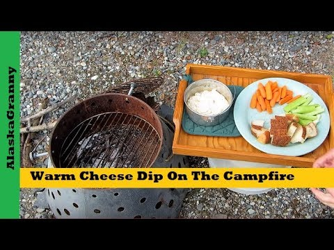 Warm Cheese Dip On The Campfire Or Microwave