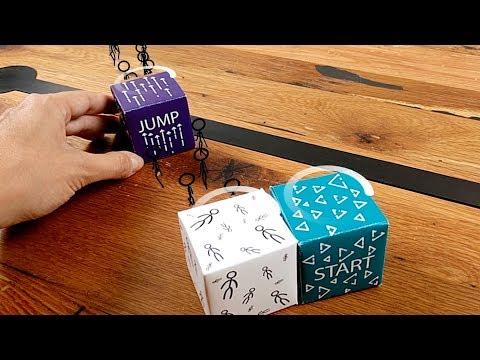 AR Experiments: Paper Cubes